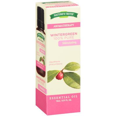 Nature's Truth® Aromatherapy Wintergreen 100% Pure Essential Oil 0.51 fl. oz. Box