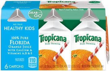 PURE PREMIUM Healthy Kids No Pulp 8 oz Orange Juice 6 CT CARTON