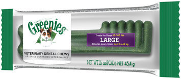 Greenies® Large Dog Dental Daily Chews 1.6 oz. Package