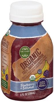 Orchard Fusion™ Organic Blueberry + Banana 100% Juice Smoothie 8 fl. oz. Bottle