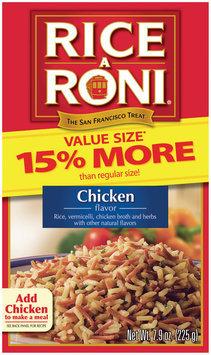Rice-A-Roni Chicken Value Size Rice Pasta Mix 7.9 Oz Box