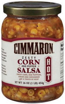 Cimmaron Zesty Corn & Pepper Hot Salsa