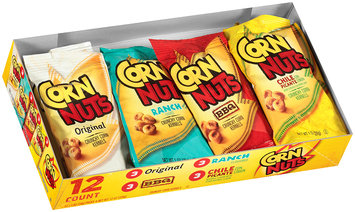 Corn Nuts Crunchy Corn Kernels Variety Pack 12-1 oz. Bags