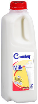 Crowley® Vitamins C & D Milk 1 qt. Jug