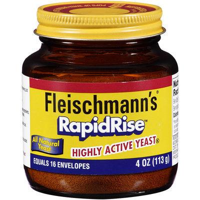Fleischmann's® RapidRise™ Highly Active Yeast 4 oz. Jar
