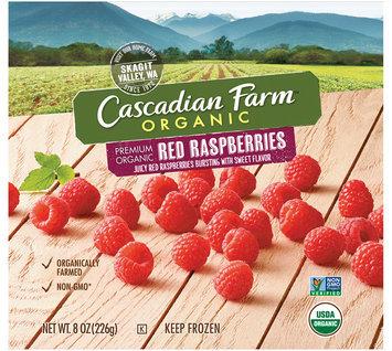 Cascadian Farm™ Organic Red Raspberries 8 oz. Pouch