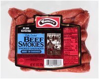 Wimmer's® Fully Cooked Beef Smokies Smoked Sausages 13 oz. Package