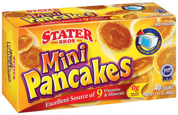 Stater Bros. Mini Pancakes 14.1 Oz Box