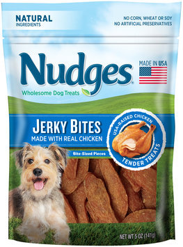 nudges® chicken jerky wholesome dog treats