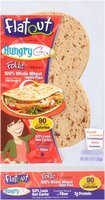 Flatout® Foldit® Hungry Girl 100% Whole Wheat with Flax Flatbread 9 oz. Packet