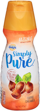 International Delight™ Simply Pure® Hazelnut Coffee Creamer 1 pt. Bottle