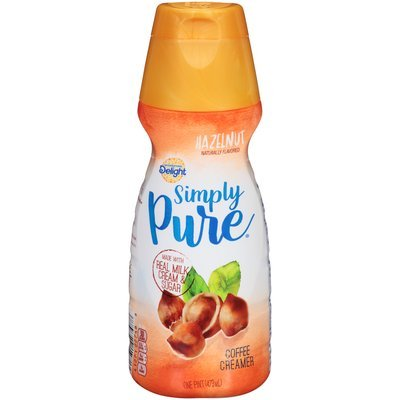 International Delight™ Simply Pure® Hazelnut Coffee Creamer 1 pt. Bottle