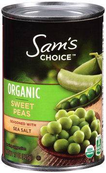 Sam's Choice™ Organic Sweet Peas 15 oz. Can