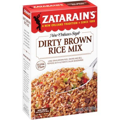 Zatarain's® Dirty Brown Rice Mix 7 oz. Box