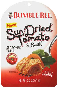 Bumble Bee® Sun-Dried Tomato & Basil Seasoned Tuna 2.5 oz. Package