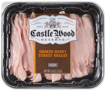 Castle Wood® Reserve Sliced Smoked Honey Turkey Breast