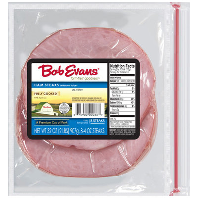 Bob Evans® 97% Fat Free Ham Steaks 32 oz. Bag