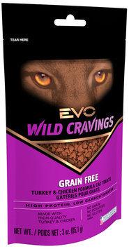 Evo® Wild Cravings Turkey & Chicken Formula Cat Treats 3 oz. Bag