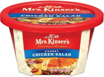Mrs. Kinser's Chunky Chicken Salad 12 Oz Tub
