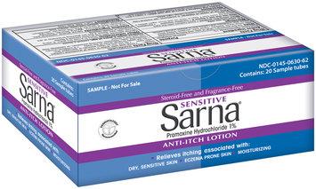 Sarna® Sensitive Anti-Itch Lotion 20-5.0g Tubes