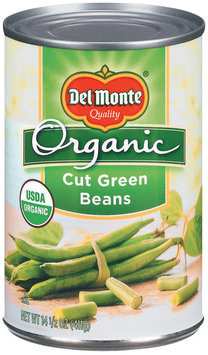 Del Monte® Organic Cut Green Beans