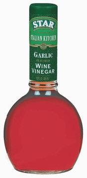 Star® Italian Kitchen Garlic Wine Vinegar 12 fl. oz. Glass Bottle