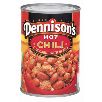 Dennison's Hot W/Beans Chili Con Carne 15 Oz Can