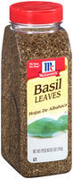 McCormick® Basil Leaves 5 oz. Shaker