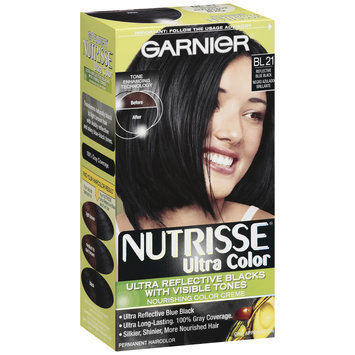 Garnier® Nutrisse® Ultra Color Nourishing Color Creme, Bl 21 Reflective Blue Black