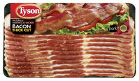 Tyson Thick Cut  Bacon 16 Oz Package