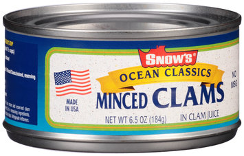 Snow's® Ocean Classics Minced Clams in Clam Juice