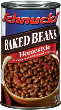Schnucks Homestyle  Baked Beans 28 Oz Can