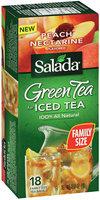 Salada® Green Tea for Iced Tea Peach Nectarine Flavored 3.17 oz.
