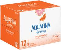 Aquafina™ Sparkling Orange Grapefruit Water Beverage 12-12 fl. oz. Cans