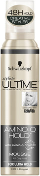 Schwarzkopf Styliste Ultime® Amino-Q Hold™ Mousse 8 oz. Aerosol Can