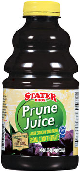 Stater Bros. Prune Juice 32 Oz Plastic Bottle