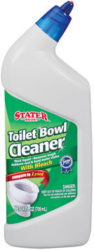 Stater Bros. W/Bleach Toilet Bowl Cleaner 24 Oz Squeeze Bottle