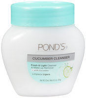 Pond's® Fresh & Light Cucumber Cleanser & Make-up Remover 6.5 oz. Jar