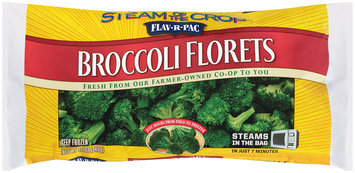 Flav-R-Pac® Steam of the Crop™ Broccoli Florets 12 oz. Bag