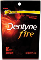 Dentyne Fire Spicy Cinnamon Sugar Free Gum