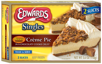 Edwards® Singles Reese's* Creme Pie 5.6 oz. Box