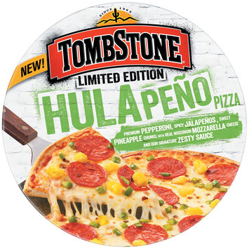 Tombstone Limited Edition Hulapeno Pizza