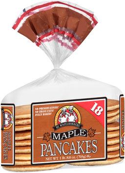 De Wafelbakkers® Maple Pancakes 18 ct Bag