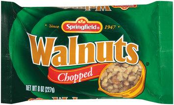 Springfield Chopped Walnuts 8 Oz Bag