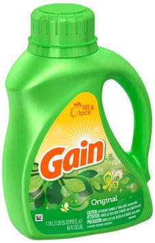 Gain with FreshLock Original Liquid Detergent 40 fl. oz.