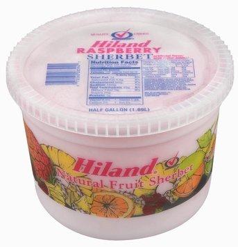 Hiland Raspberry Sherbet .5 Gal Plastic Tub