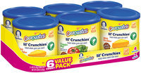 Gerber Graduates Lil' Crunchies Lil' Crunchies 6 Ct Club Pack 8.88 Oz (6-1.48 Oz) 6 Ct Sleeve