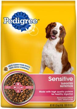 Pedigree® Sensitive Targeted Nutrition Dry Dog Food 14 lb. Bag