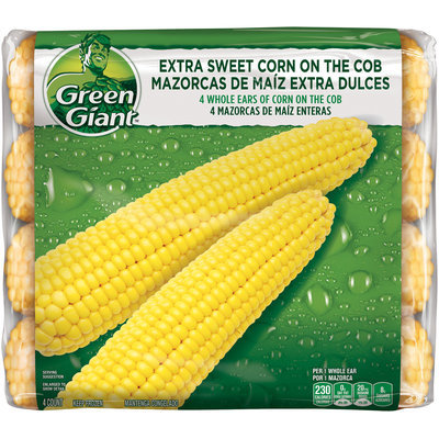 Green Giant® Extra Sweet Corn on the Cob Whole Ears