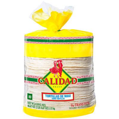 Calidad® White Corn Tortillas